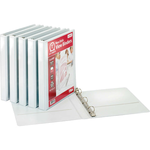 "Tops 1"" R-Ring View Binder 6-count"