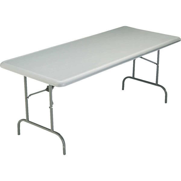 Iceberg IndestrucTable TOO 30  x 72  Charcoal Folding Table