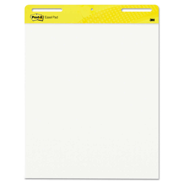 Post-It Self-Stick Easel Pads, 25 in. x 30 in., White, 2-count