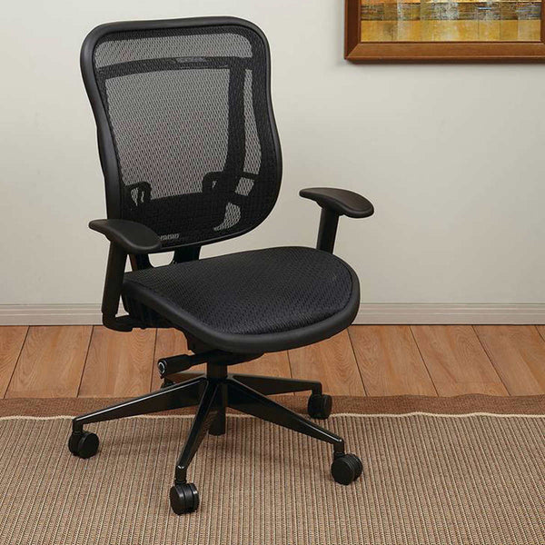 SPACE Executive High Back Chair with Mesh Seat and Back
