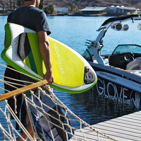 BodyGlove Hybrid Inflatable Wake Surfboard