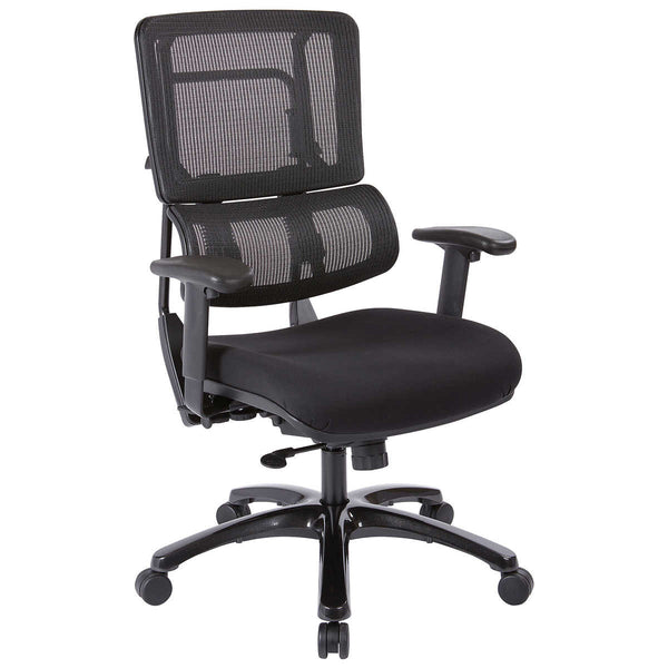 Novado Managers Chair in Coal Black