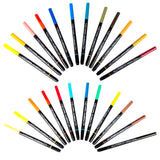 Aquabrush Dual Tip 24 Piece Painter Pen Set