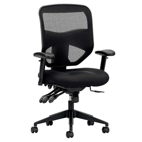 basyx VL532 Series High-back Mesh Multi-purpose Task Chair Black