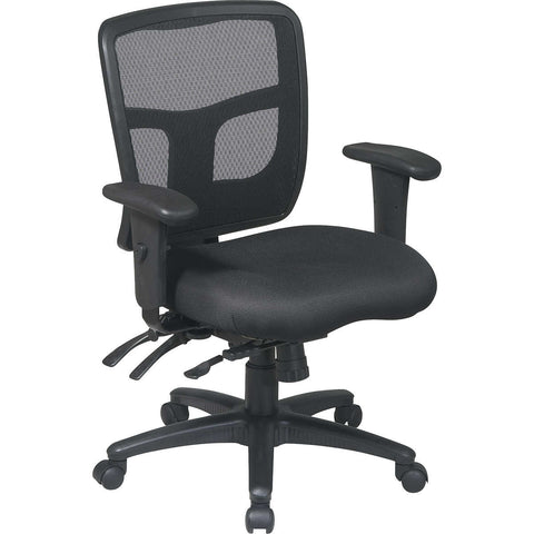 Pro-Line II Deluxe Adjustable Air Grid Back Ergonomic Office Chair