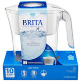 Brita Lake Pitcher with 2 Filters
