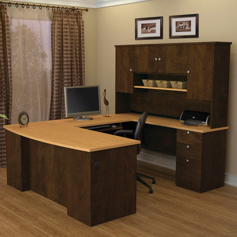 Merritt U-Shape Desk with Hutch