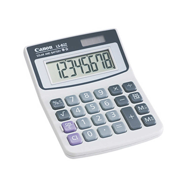Canon Minidesk Calculator 8-Digit LCD CNM 4075A007AA
