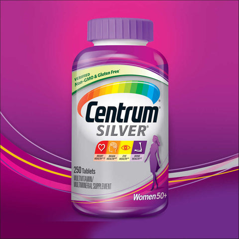 Centrum Silver Women 50+, 250 Tablets