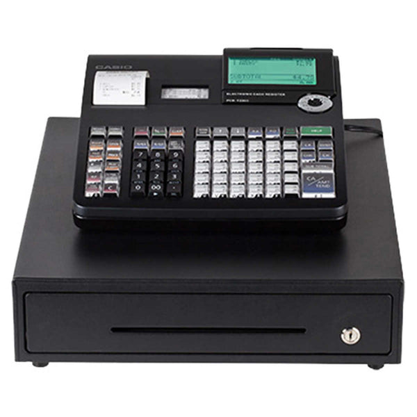 Casio PCR-T2300 Black Cash Register