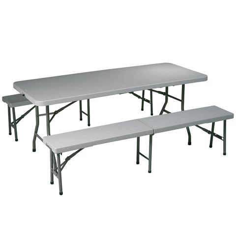3-piece Folding Bench Set