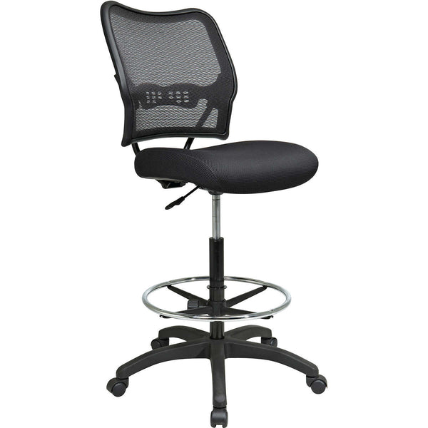 Deluxe Air Grid® Back Drafting Chair with Mesh Seat