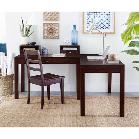 Pacifica Corner Desk with Chair