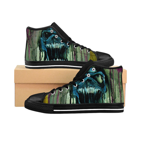 Mars Men's High-top Sneakers