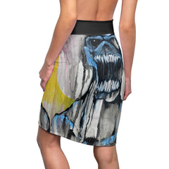 Mars Women's Pencil Skirt