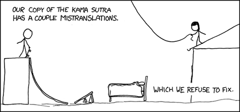 XKCD 414 Mistranslations