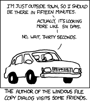XKCD 612 Estimation