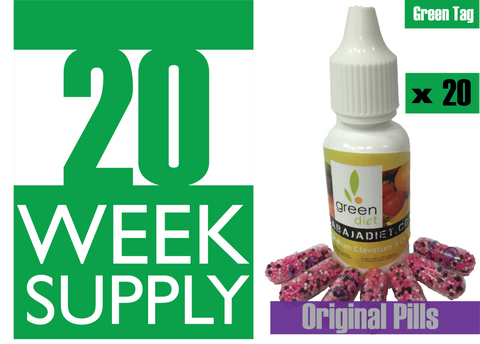 20 Weeks Supply of Green Diet w/ Original Pills