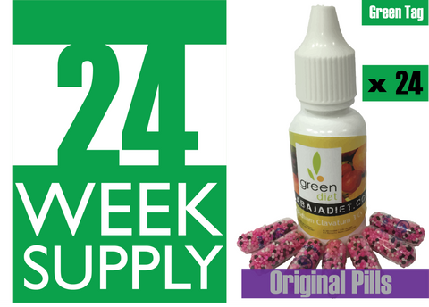 24 Weeks Supply of Green Diet w/ Original Pills