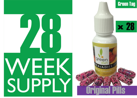 28 Weeks Supply of Green Diet w/ Original Pills