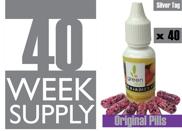 40 Weeks Supply of Green Diet w/ Original Pills