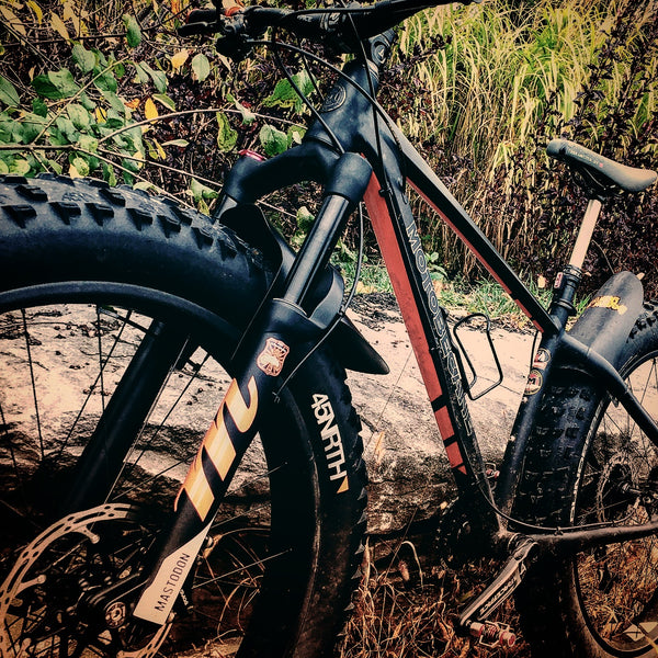Beaver Guard Mudguard - Mastodon  - *NOW AVAILABLE*  (usage: Manitou Mastodon fork)