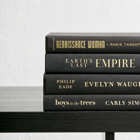 Black and Gold Book Bundle