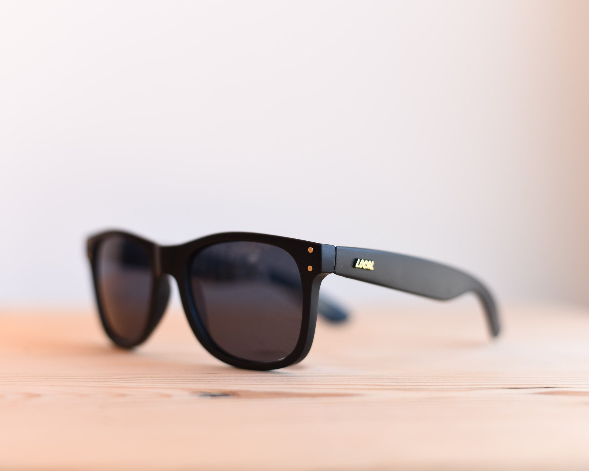 Everyday Black On Black Sunglasses