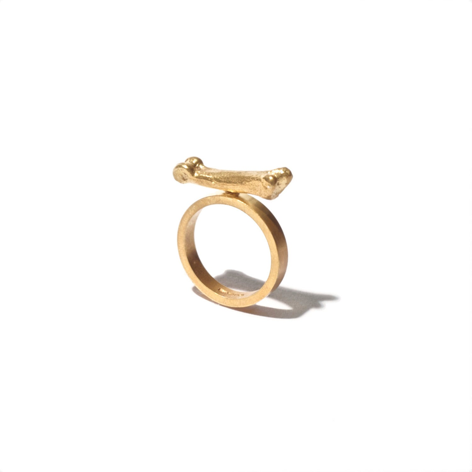 Fox Toe Bone Ring