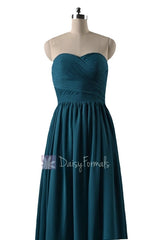 In stock,ready to ship - long sweetheart peacock teal chiffon formal dresses(bm10824l) - (#42 peacock teal, sz4)