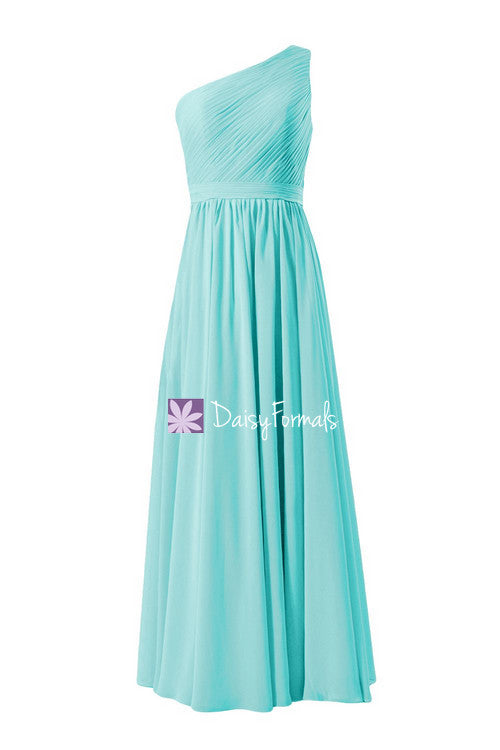 Special turquoise bridesmaids dress online vintage long tiffany blue wedding party dress (bm10822l)
