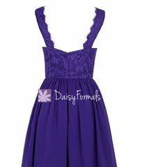 Dusty Shale V-neckline Dress Women Lace Dress Bridesmaids Dress Long Prom Dress (BM2342L)