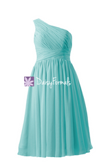 Short knee length chiffon dress empire party dress maternity formal dress (bm351em)
