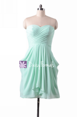 Mint amazing a-line empire chiffon dress special occasion party dresses (bm643s)
