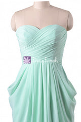 Mint Amazing A-line Empire Chiffon Dress Special Occasion Party Dress (BM643S)