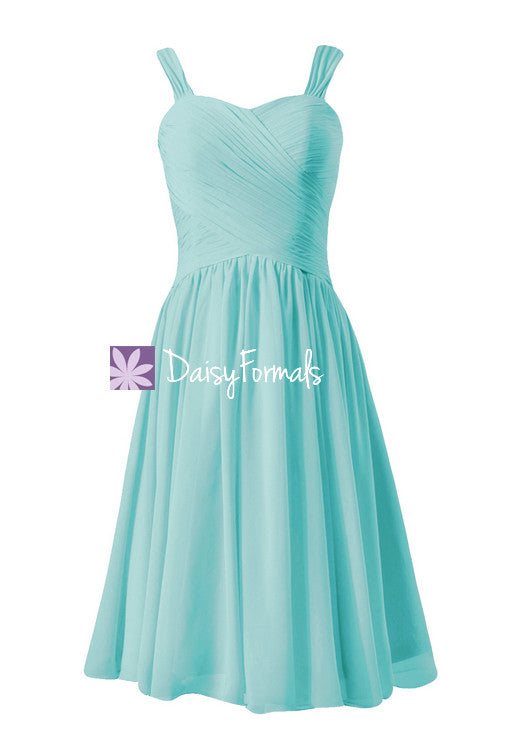 Elegant robin egg blue party dress cocktail dress beach wedding party dress online (bm800)