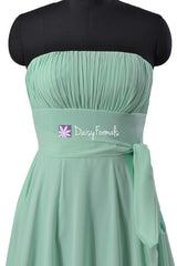 Beautiful mint green cocktail dress party dress beach wedding party dresses (bm856)
