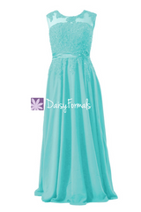 Robin's egg blue lace appliqué elegant evening dress long luxury beading party dress (bmdk122)