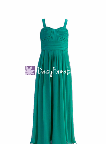 Lovely Junior Bridesmaid Dress Long Junior Girl Dress FL32942
