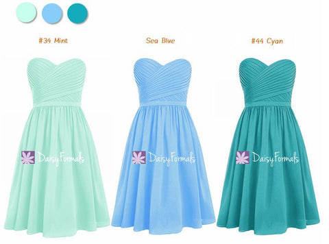 Stylish Mix & Match - Green Blue Short and Sweet Ones (MM72)