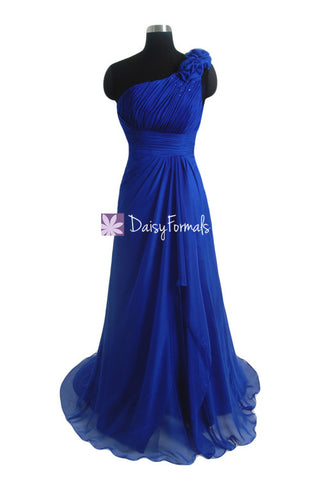 Fashionable Prom Dress Long Sapphire Blue Party Dress Dark Blue Evening Dress (PR28480)