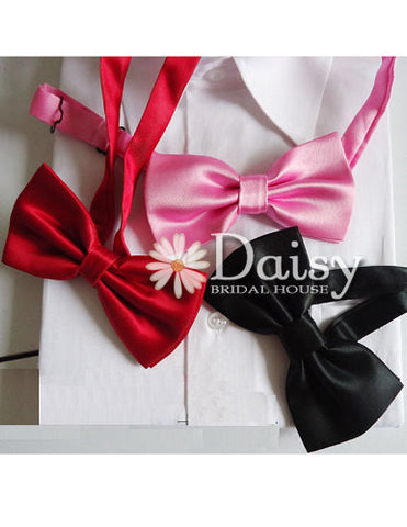 Bow Tie for Groom, Best Man and Special Occasions, Men's Bow Tie, Boys Bow Tie (S030)
