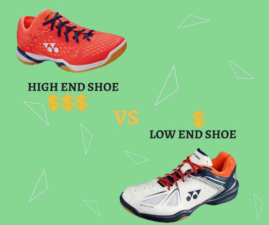 What Is The Difference Between Low End and High End Badminton Shoes? - Yumo Pro Shop - Racquet Sports online store