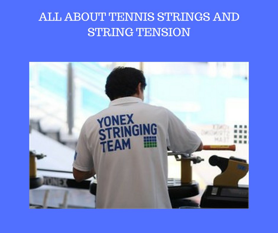 All About Tennis Strings and String Tension - Yumo Pro Shop - Racquet Sports online store