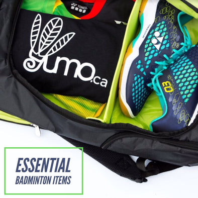 Essential Items to Keep in Your Badminton Bag