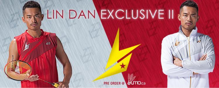 Lin Dan Exclusive II Limited Edition Badminton Equipment - Yumo Pro Shop - Racquet Sports online store
