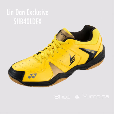 Lin Dan Exclusive II Black SHB40LDEX Badminton Shoe