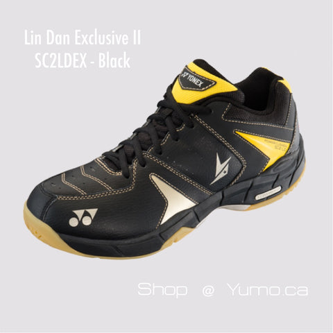Lin Dan Exclusive II Black SC2LDEX Badminton Shoe