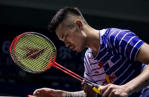 lin dan voltric force two badminton racket