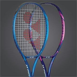 Yonex EZONE FEEL Strung Tennis Racket [Blue]